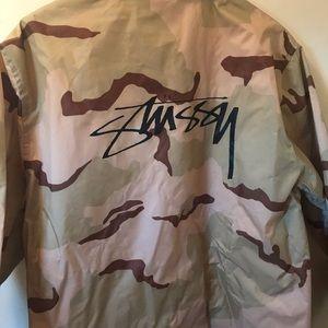 Stussy Camo Windbreaker Jacket